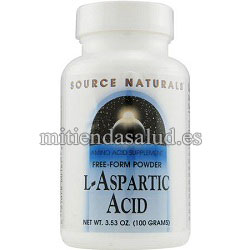 Acido Aspartico Source Natural 3.53 oz