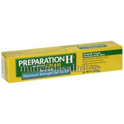 Preparation H Cream with Maximum Strength Pain Relief-con Aloe 51g