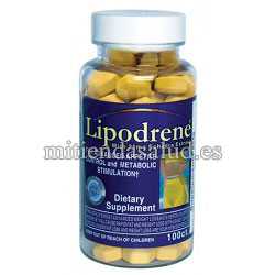 Lipodrene with 25mg ephedra extract Hi-Tech 100 tabletas