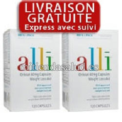 2 Pack Alli 60mg 170 capsulas