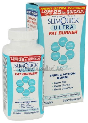 Slim Quick Ultra 72 capsulas
