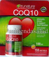 Coenzima Q10 100 Mg 150 capsulas en gel