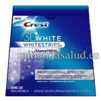 CREST 3D WHITE : 20 Whitestrips resultados profesionales Tratamientos