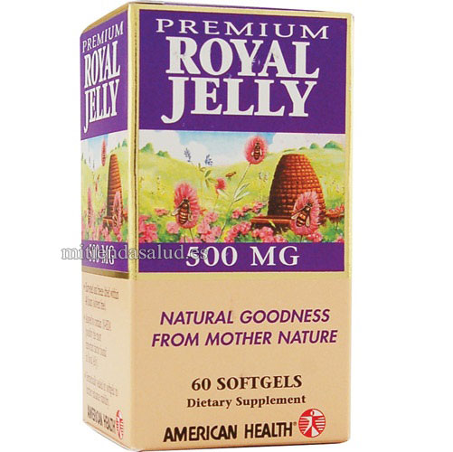 Jalea Real 500 mg 60 capsulas Rexal