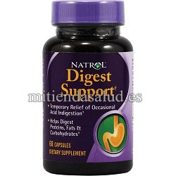Digest Support Natrol 60 capsulas