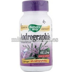 Andrographis  Nature's way 60 capsulas