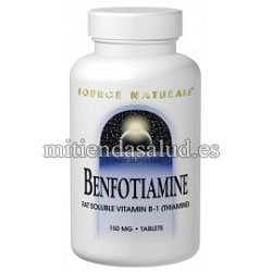Benfotiamina 150mg Source Natural 60 capsulas
