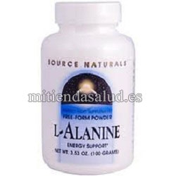 L-Alanina 100mg Source Natural