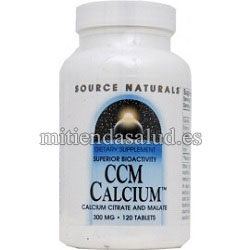 Calcio CCM Source Natural 120 capsulas