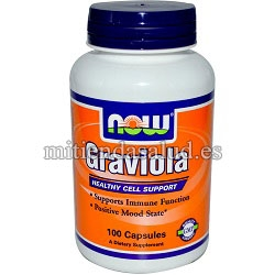 Graviola 1000mg Now Foods 100 capsulas
