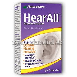 Oiga Todo (Hear All) Natural Care 60 capsulas