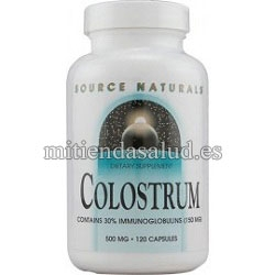 Calostro 500mg Source Natural 120 capsulas