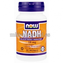 NADH 10mg Now foods 60 tabletas