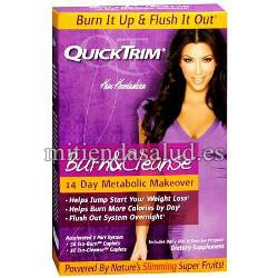 QuickTrim Burn and Cleanse 56 capsulas