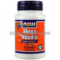 Mega Hoodia Concentrate 250mg Now Foods 60 capsulas