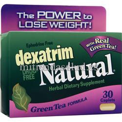 Dexa Trim Natural con te verde 30 tabletas