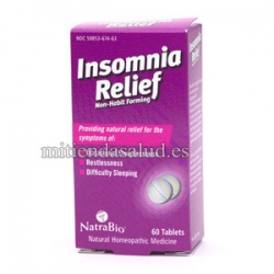 Insomnia Relief 60 comprimidos homeopaticos